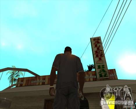 Salierys Bar для GTA San Andreas второй скриншот