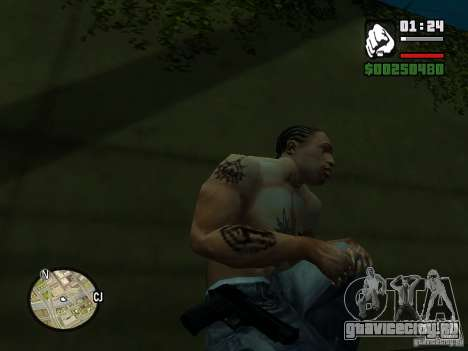 Carbon Desert Eagle для GTA San Andreas второй скриншот