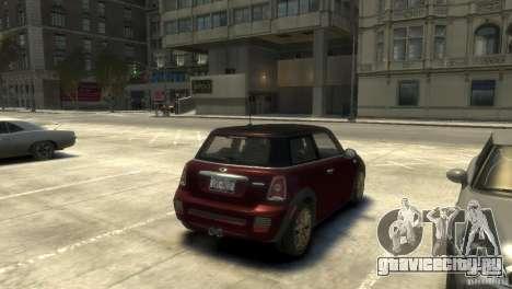 Mini John Cooper Works 2009 для GTA 4 вид справа
