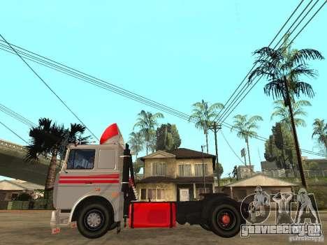 МАЗ 543205 Тюнинг для GTA San Andreas вид слева