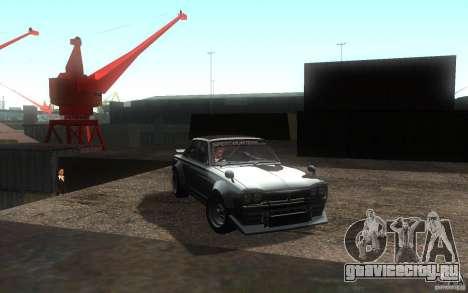 Nissan 2000GTR V2 для GTA San Andreas вид справа