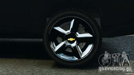 Chevrolet Avalanche 2007 [ELS] для GTA 4 вид сверху