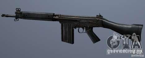 FN FAL для GTA San Andreas четвёртый скриншот