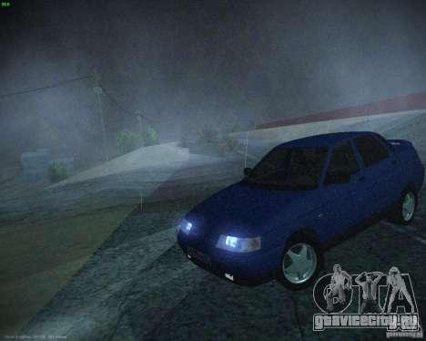 ВАЗ 21103 для GTA San Andreas вид слева