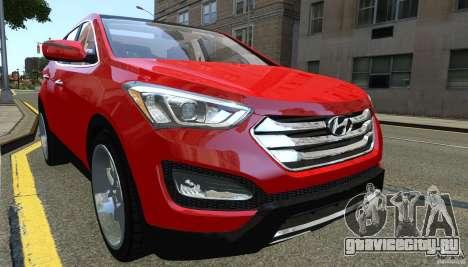 Hyundai Santa Fe Sport 2013 для GTA 4 вид слева