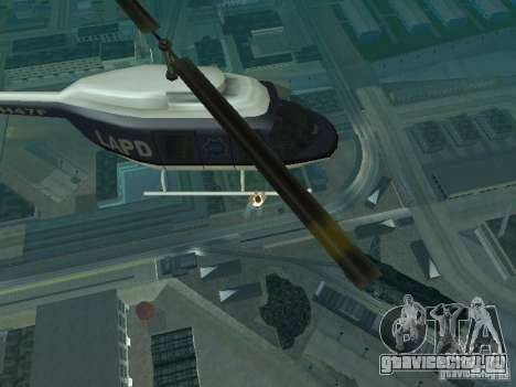 Helicopter Grab v1.0 для GTA San Andreas