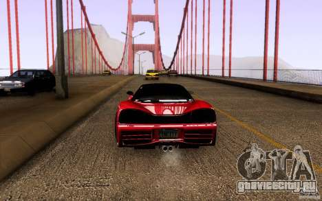 Honda NSX VielSide Cincity Edition для GTA San Andreas вид справа