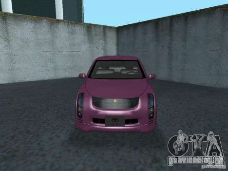 Toyota WiLL Cypha для GTA San Andreas вид слева