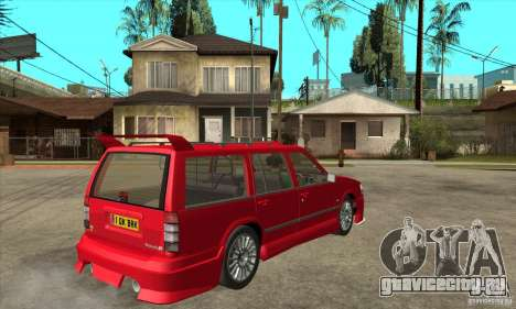 Volvo 945 Wentworth R with bodykit (1.2) для GTA San Andreas вид справа