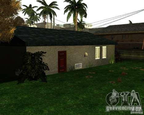 New Ryder House для GTA San Andreas второй скриншот