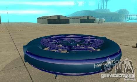 Chuckup для GTA San Andreas вид сзади слева
