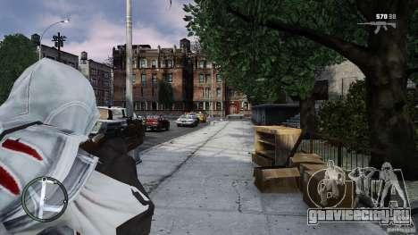 Assassins Creed II Ezio для GTA 4 четвёртый скриншот