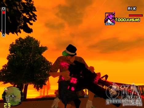 Hello Kitty weapon для GTA San Andreas четвёртый скриншот