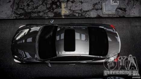 Infiniti G37 Sport 2008 JDM Tune (Beta) для GTA 4 вид сверху