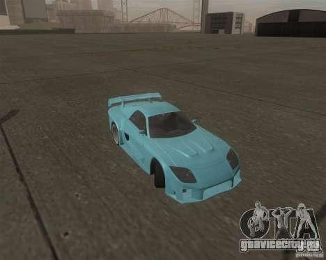 Mazda RX-7 Veilside Fortune для GTA San Andreas вид сзади