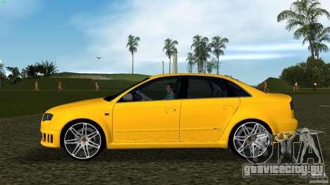 Audi RS4 для GTA Vice City вид слева