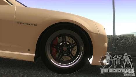 Chevrolet Camaro SS Dr Pepper Edition для GTA San Andreas вид сбоку