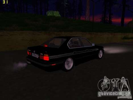 BMW E34 Alpina B10 Bi-Turbo для GTA San Andreas