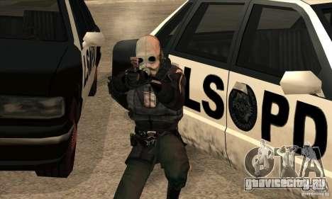 Police Man для GTA San Andreas пятый скриншот