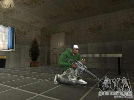 Пак Отечественного Оружия V2 для GTA San Andreas пятый скриншот