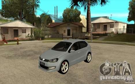 Volkswagen Polo 2011 для GTA San Andreas