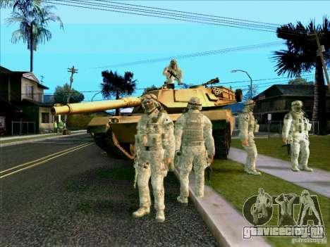 Morpeh в электронном камуфляже для GTA San Andreas четвёртый скриншот