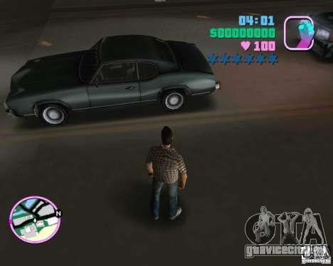 Обновлённый Sabre для GTA Vice City вид слева