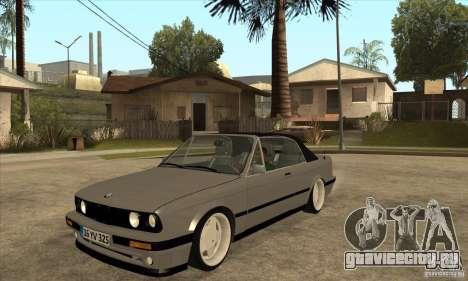 BMW E30 325i Cabrio 1989 для GTA San Andreas