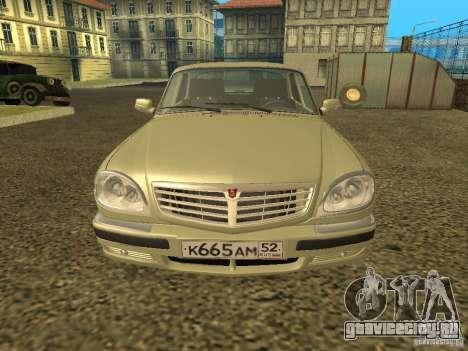 ГАЗ 31105 Волга рестайлинг для GTA San Andreas вид слева