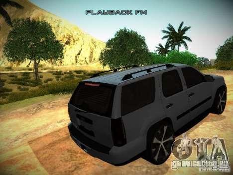 Chevrolet Tahoe HD Rimz для GTA San Andreas вид изнутри