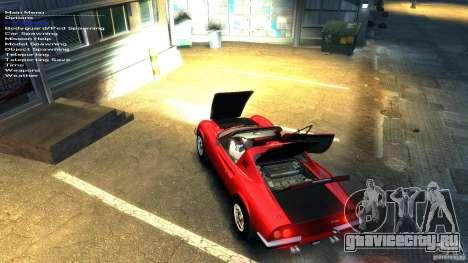 Ferrari Dino 246 GTS для GTA 4 вид снизу
