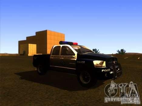Dodge Ram 1500 Police для GTA San Andreas