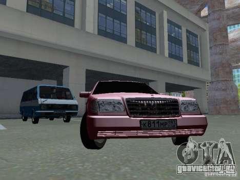 Mercedes-Benz S600 W140 v 2.0 для GTA San Andreas вид слева
