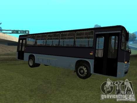 Ikarus C60 для GTA San Andreas вид сзади слева