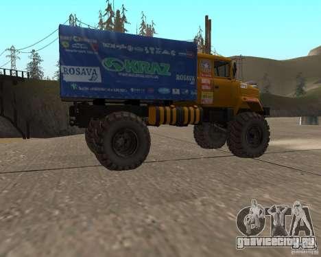 КрАЗ Monster для GTA San Andreas вид слева