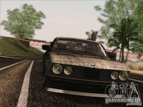 BMW E28 525E RatStyle для GTA San Andreas вид сбоку