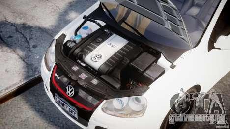 Volkswagen Golf 5 GTI для GTA 4 вид справа