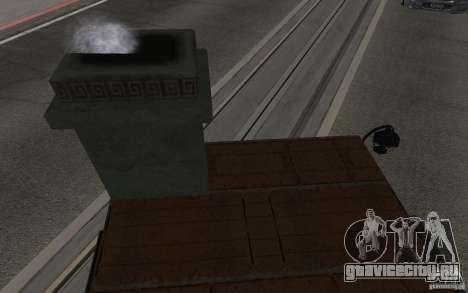 Печка для GTA San Andreas вид справа