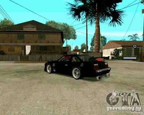 Hotring Racer Tuned для GTA San Andreas вид справа