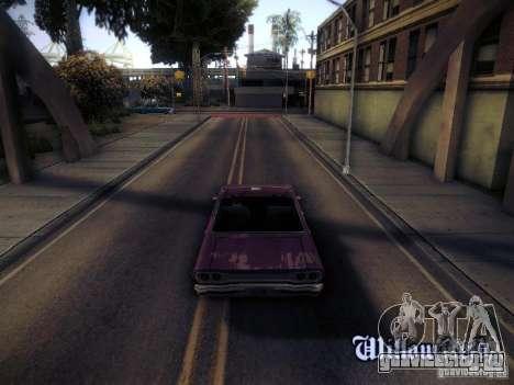 SA DirectX 1.1 Beta для GTA San Andreas третий скриншот