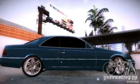 Mercedes-Benz 600SEC для GTA San Andreas вид слева