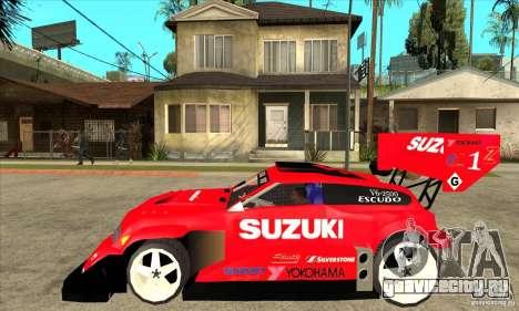 Suzuki Escudo Pikes Peak V2.0 для GTA San Andreas вид слева