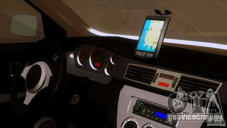 Mitsubishi Lancer Evolution IIIV для GTA San Andreas вид сзади