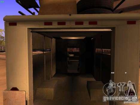 Monster Van для GTA San Andreas вид изнутри
