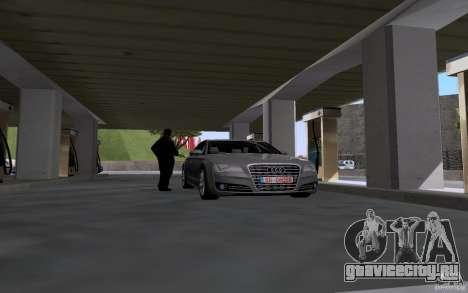 Авто заправщик на АЗС для GTA San Andreas