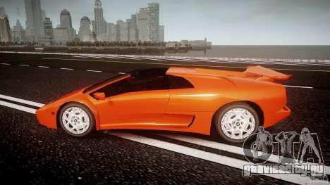Lamborghini Diablo 6.0 VT для GTA 4 вид слева