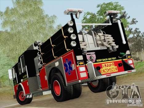 Seagrave Marauder Engine SFFD для GTA San Andreas колёса