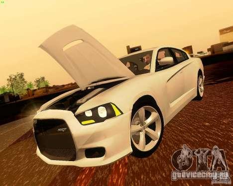 Dodge Charger SRT8 2012 для GTA San Andreas вид сбоку