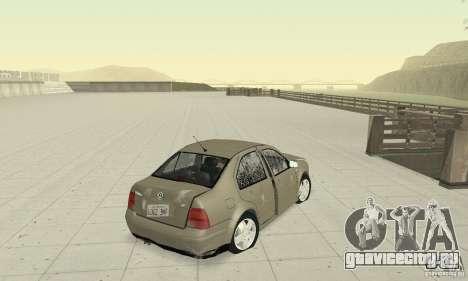 Volkswagen Bora Stock для GTA San Andreas вид сбоку