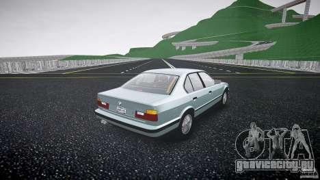BMW 535i E34 для GTA 4 вид изнутри